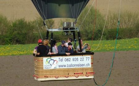 Ballonfahrt  (1 Stunde)