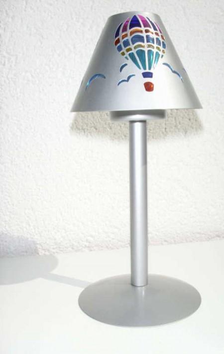 Teelicht mit Ballon Lampenschirm